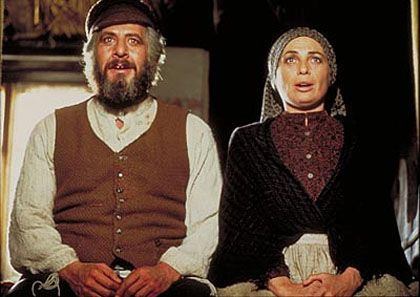 """""""Fiddler on the Roof"""" - """"Do you love me?"""" """"I suppose I do."""" :-)"""