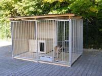 Hundezwinger 1,5 seitig geschlossen, Sonderserie