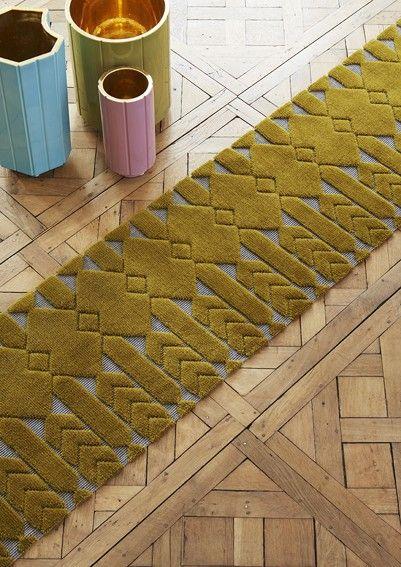 L'architecte India Mahdavi signe une collection de tapis pour Cogolin