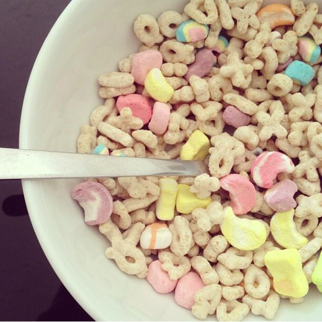 Lucky Charms ♡ follow me @hernandezva1652