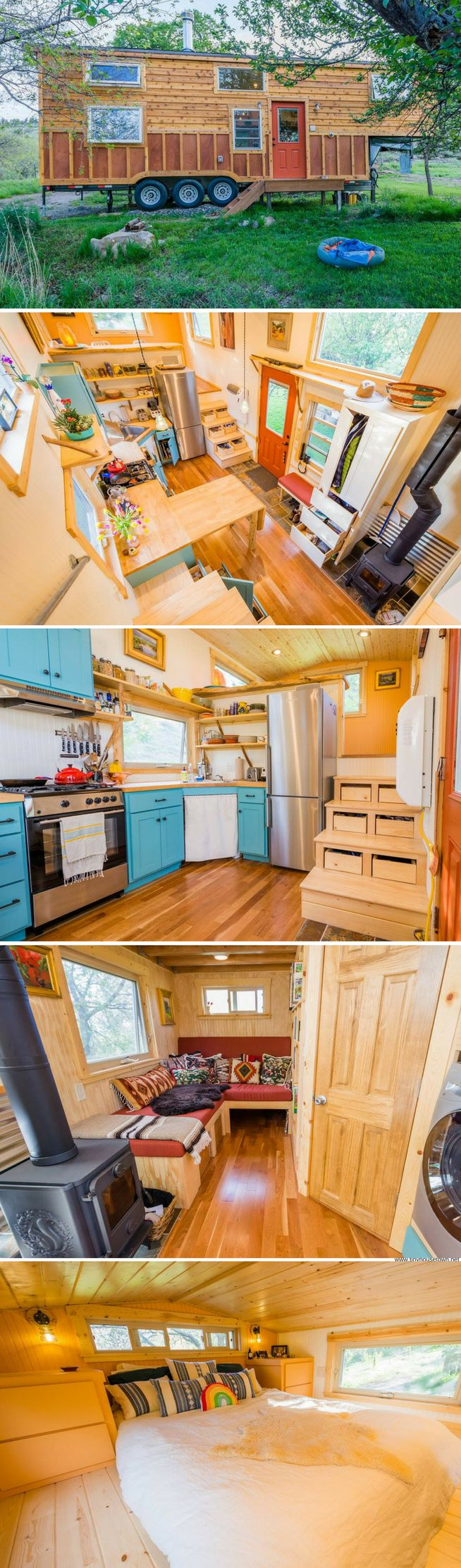 A custom tiny house from Mitchcraft Tiny Homes