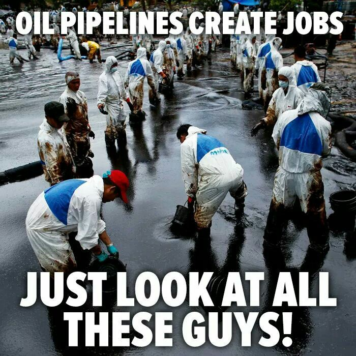 The problem is besides the obvious...they're paid by us, not the oil company !