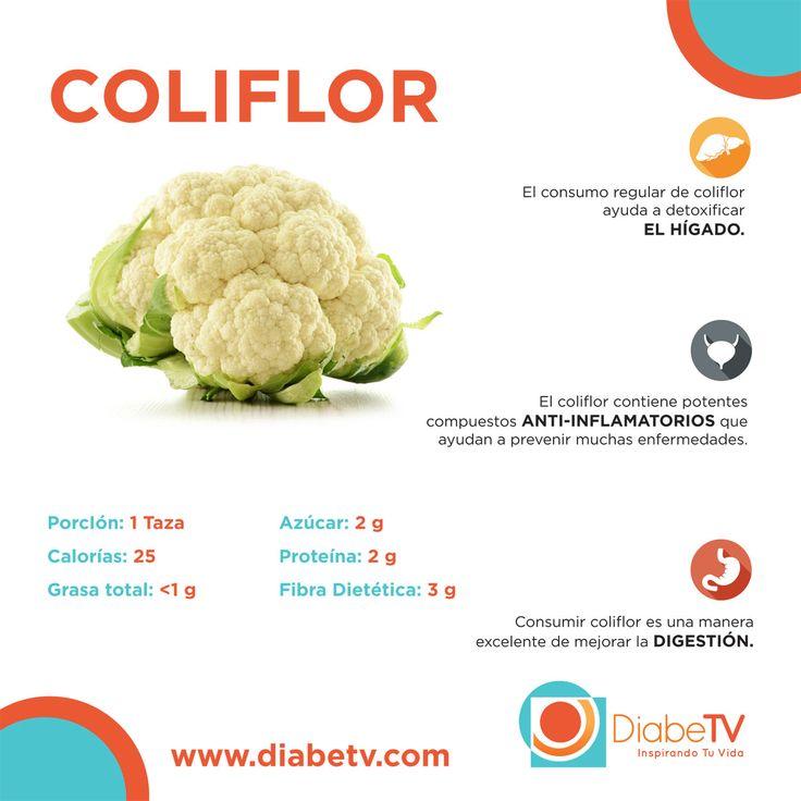 LA COLIFLOR, DELICIOSA OPCION PARA LA DIABETES.- beneficios-coliflor-diabetes