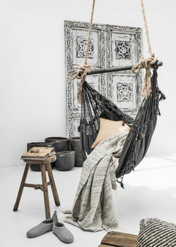 make hammock itself frame wood shawl
