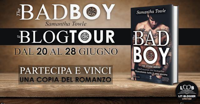 Le Lettrici Impertinenti: [BlogTour] The Bad Boy - Samantha Towle