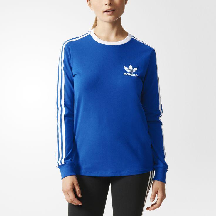 Dit damesshirt is geïnspireerd op een '80s favoriet uit het adidas-archief en heeft een lekker relaxt model. Met 3-Stripes op de mouwen en een Trefoil-logo in vlokprint links op de borst voor een tijdloze adidas Originals-stijl.