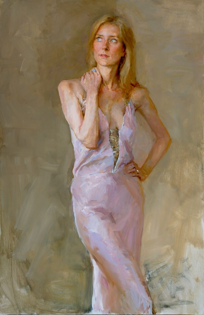 Portfolio of portraits in oil, portrait drawings,biographical information, fees and method of working for Valeriy Gridnev RP PS ROI