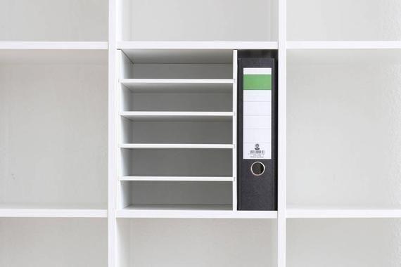 Papierregal Dokumentenablage Papierfach Postfach Ikea Kallax Expedit Einsatz