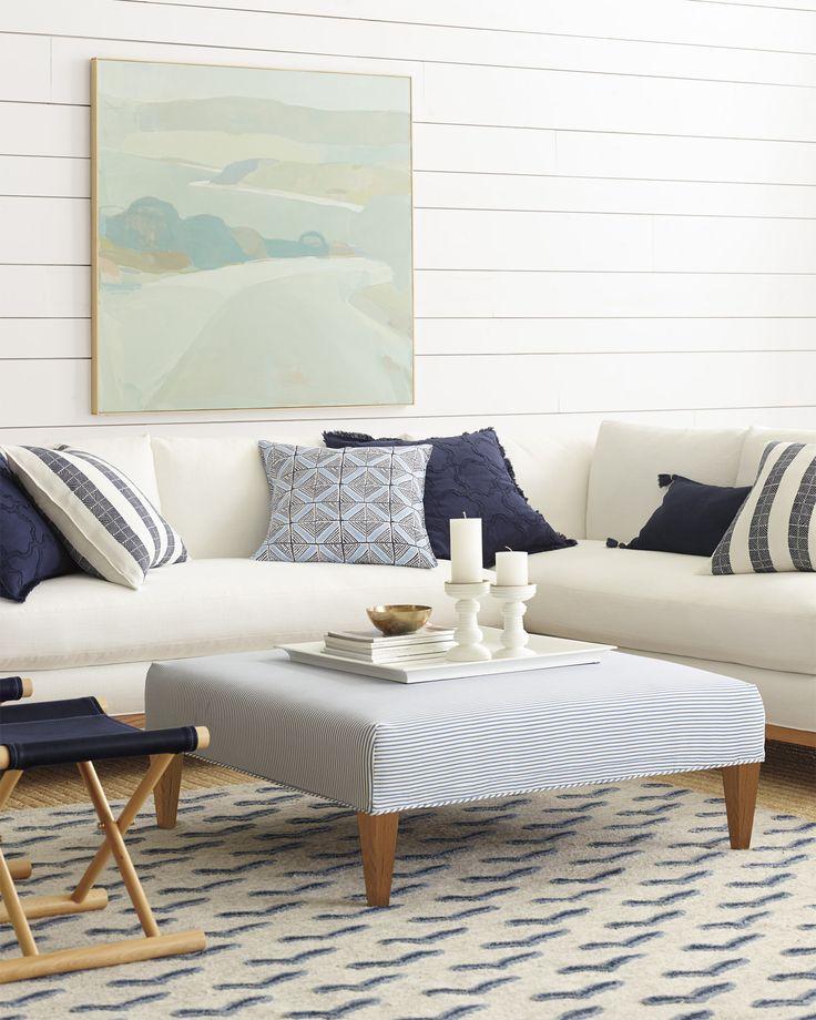 Living Room via Serena & Lily