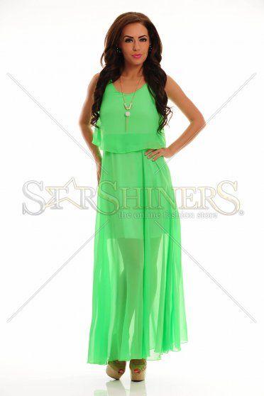 LaDonna Flawless Waves Green Dress