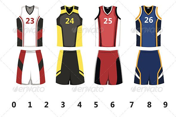Basketball Jersey Design Template - Sports/Activity Conceptual Design Template Vector EPS. Download here: https://graphicriver.net/item/basketball-jersey/6267304?ref=yinkira