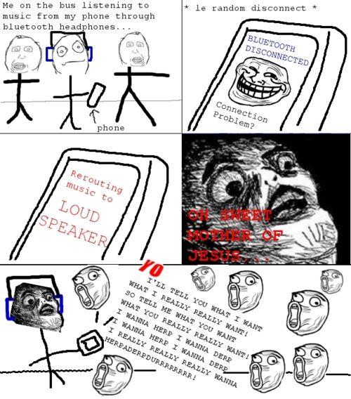 Troll Face - Bluetooth Troll