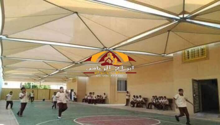 تركيب مظلات مدارس بالرياض المملكة السعودية In 2021 Basketball Court Riyadh Court