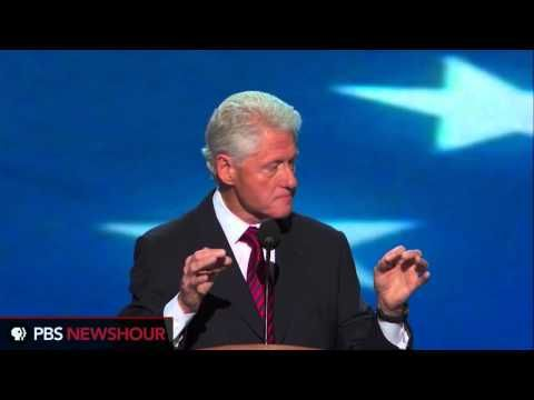 Watch President Clinton Deliver Nomination Address at the DNC  ~~Bill says it like it is!~~