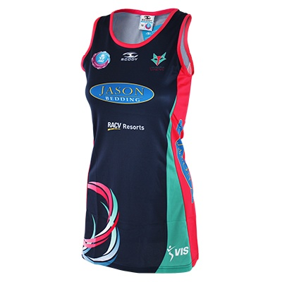 Melbourne Vixens Replica Girls Dress $70