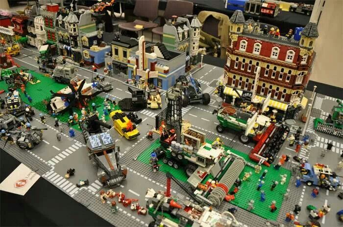 Zombie outbreak Lego set The Walking Dead | Legos ...