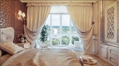 Bedroom Curtains c