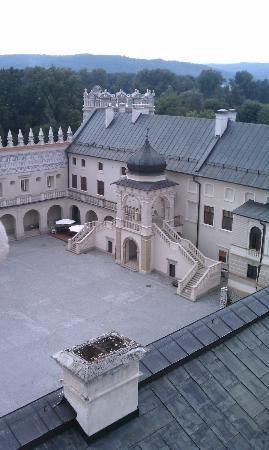 Krasiczyn Castle, Courtyard, Poland