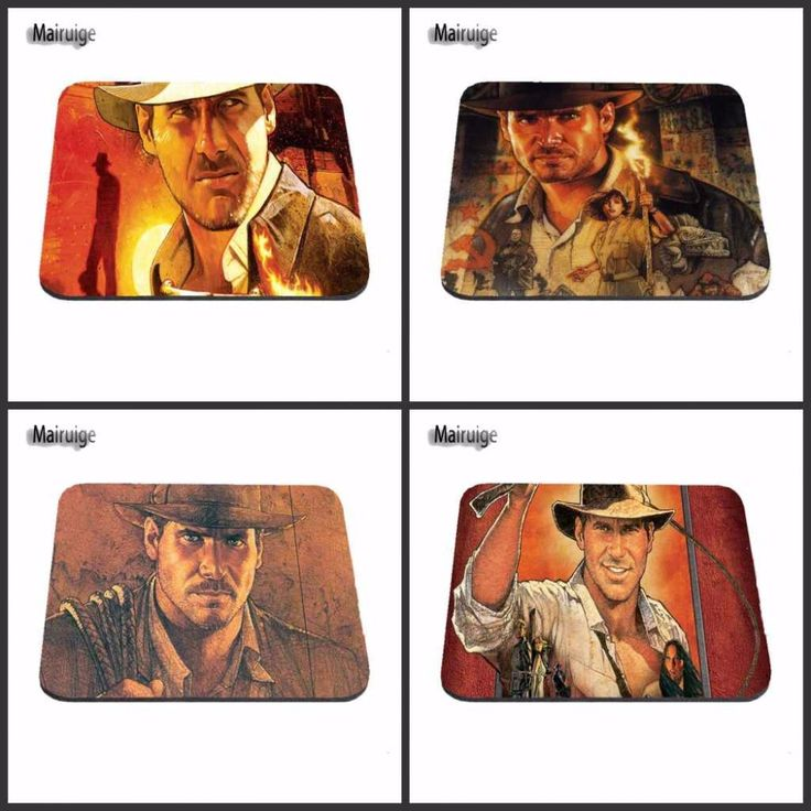 Indiana Jones Rubber Soft  Customized Luxury Printing Gaming Comfort Optical Laser Non Slip PC Mouse Pad #Affiliate