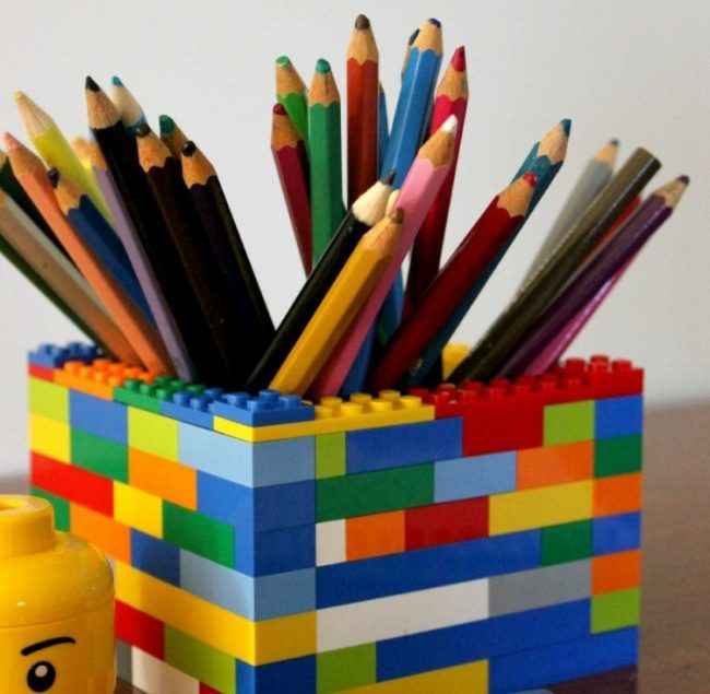 Lego Bastelideen - Praktische DIY Inspirationen fürs Interieur