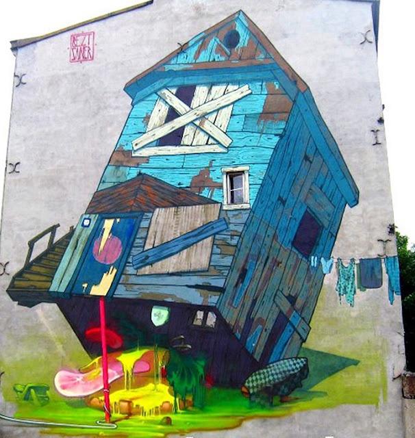 17 best images about street art on pinterest 3d alphabet for Mural hidupan laut