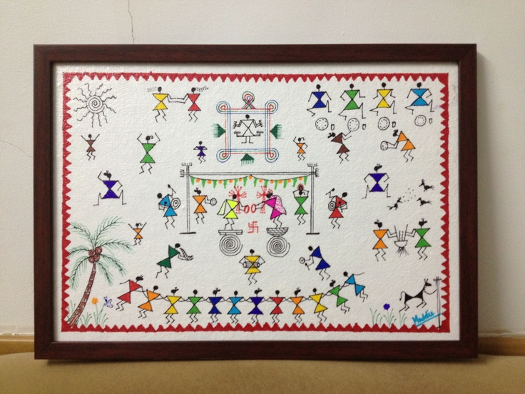 Colourful Warli Wedding