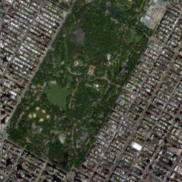 easy google map of running distances - Central Park Map