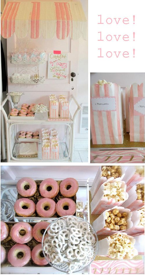 for that extravagant party that i'm throwing in the near future: a dessert cart!