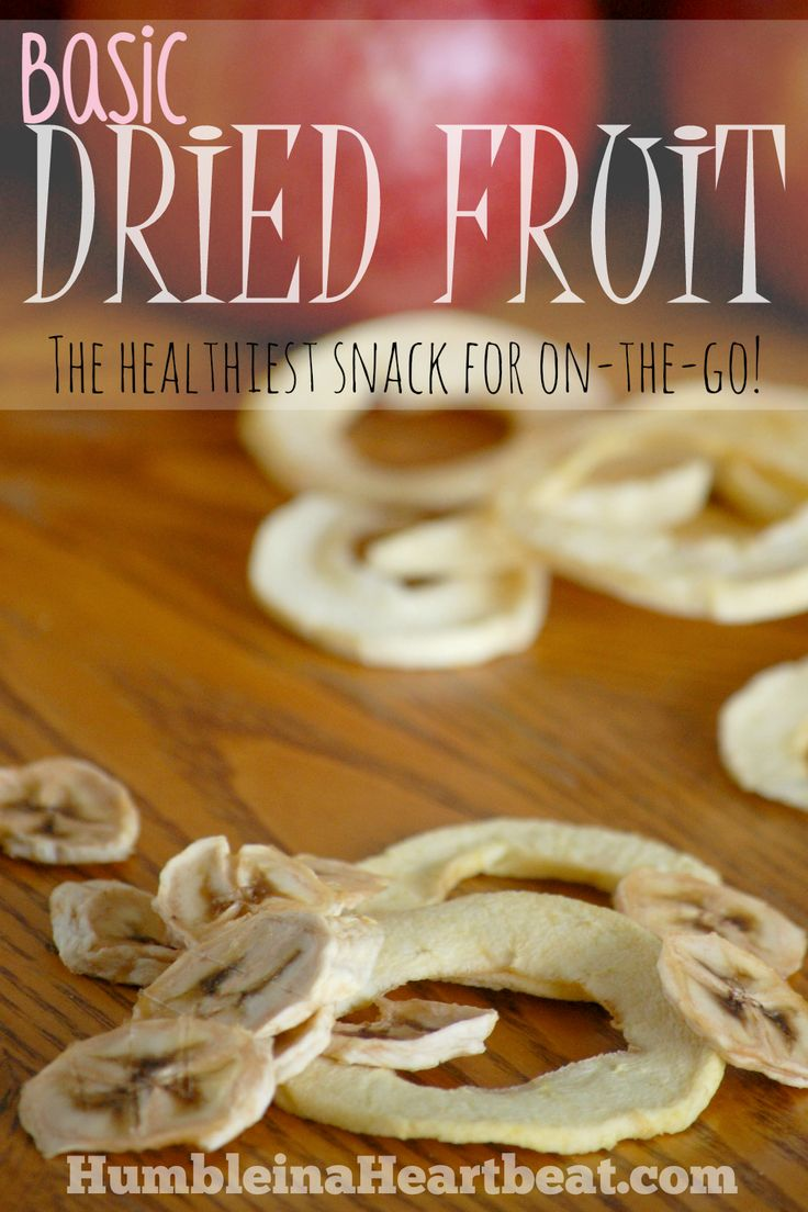 Looking for a healthy on-the-go snack that both you and your child will love? Try making some basic dried fruit!