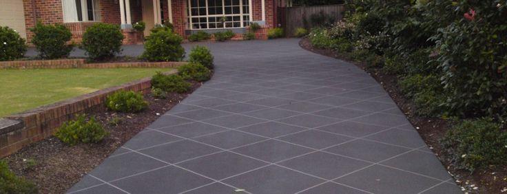 concrete driveways | ... Concrete StencilAfter – Concrete ResurfacingThe concrete resurfacing