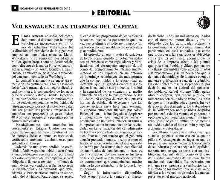 #ClippedOnIssuu from La Jornada, 09/27/2015