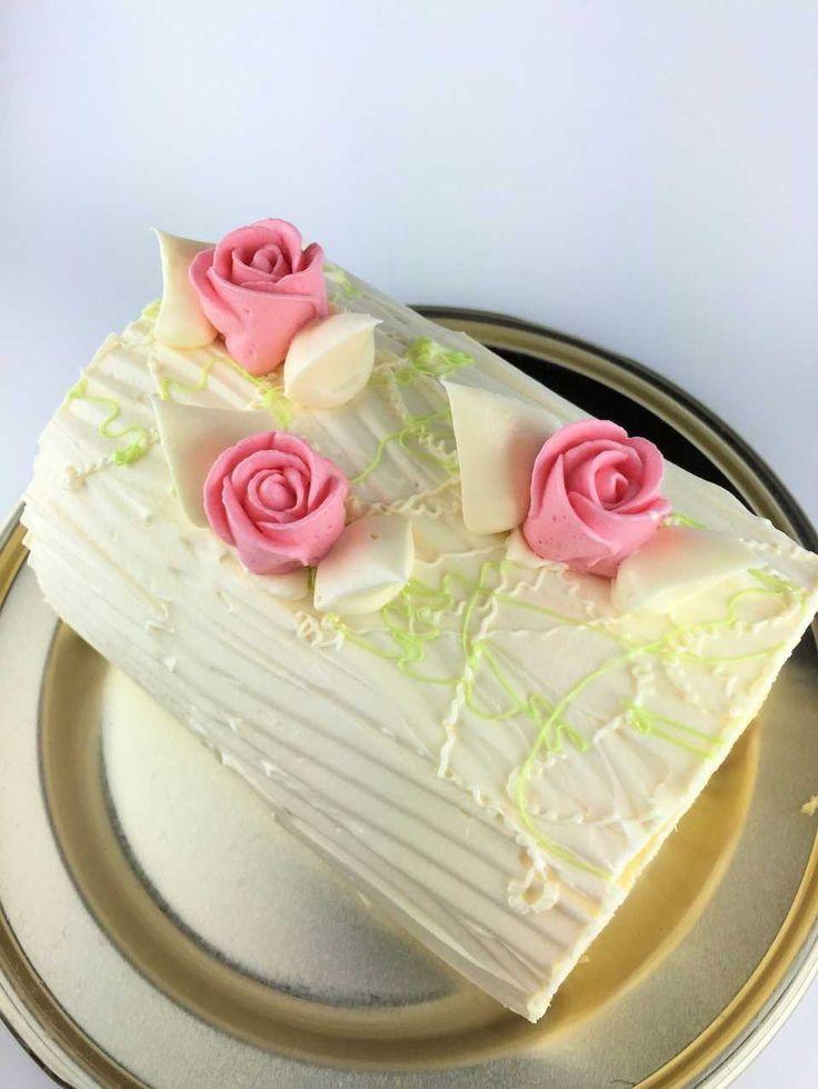 バタークリームを使ったケーキ