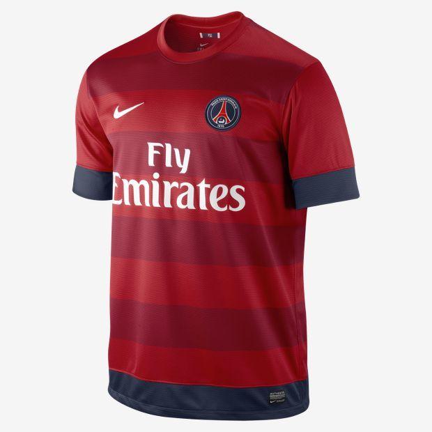 2012/13 Paris Saint-Germain Replica Short-Sleeve Men's Football Shirt
