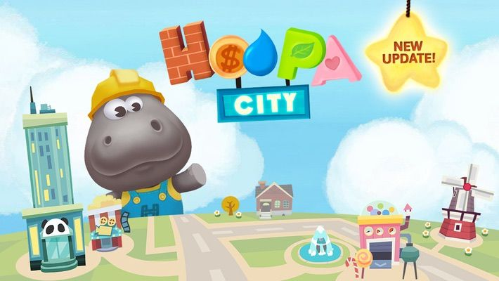 Plan and build in Hoopa City! Combine different materials to build roads, houses, and much, much more with your favorite Hippo from the Dr. Panda games!