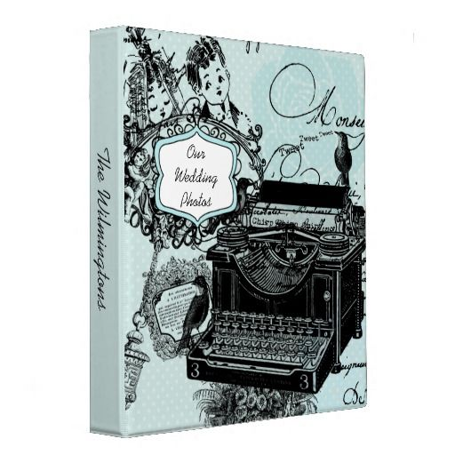 Vintage Wedding Love Letters Photo Binder   Click on photo to purchase. Check out all current coupon offers and save! http://www.zazzle.com/coupons?rf=238785193994622463&tc=pin