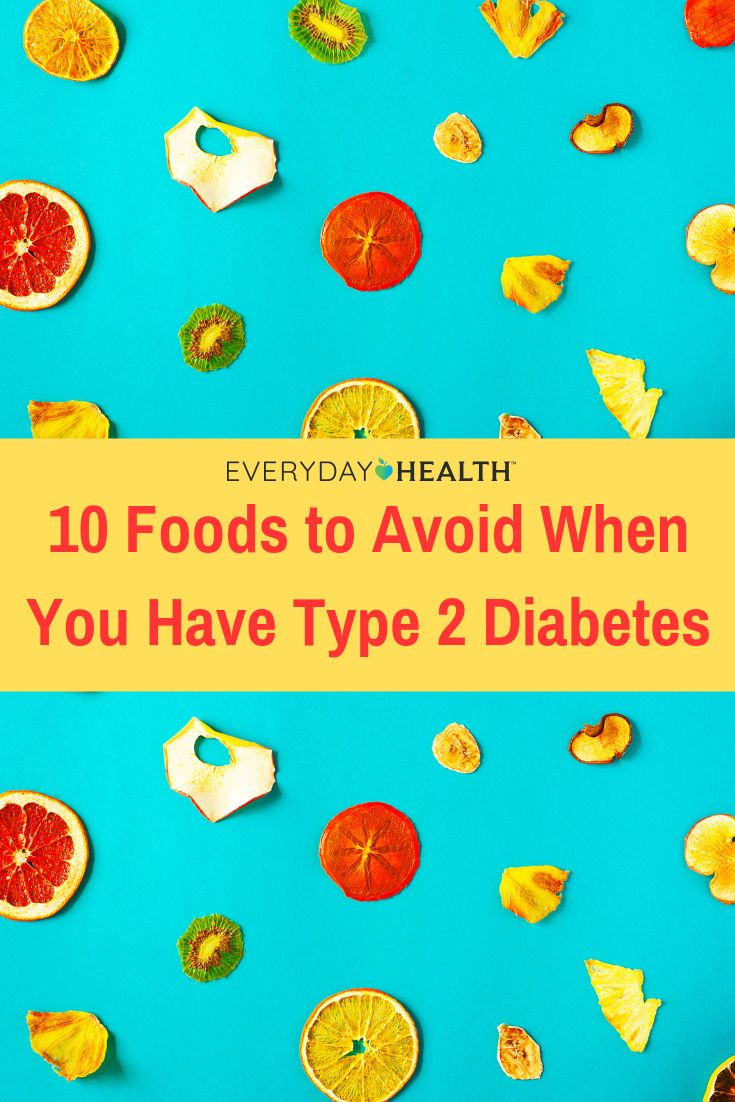 Learn Which Foods You Should Avoid When You Have Diabetes