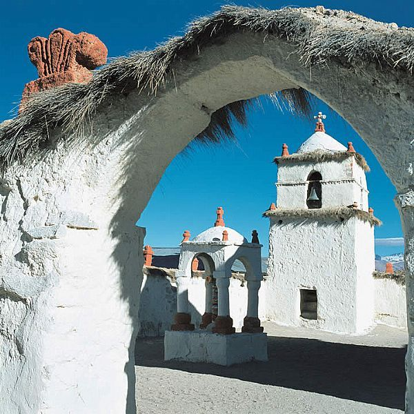 San Pedro de Atacama, a high desert town in the Andes Mountains of northern Chile