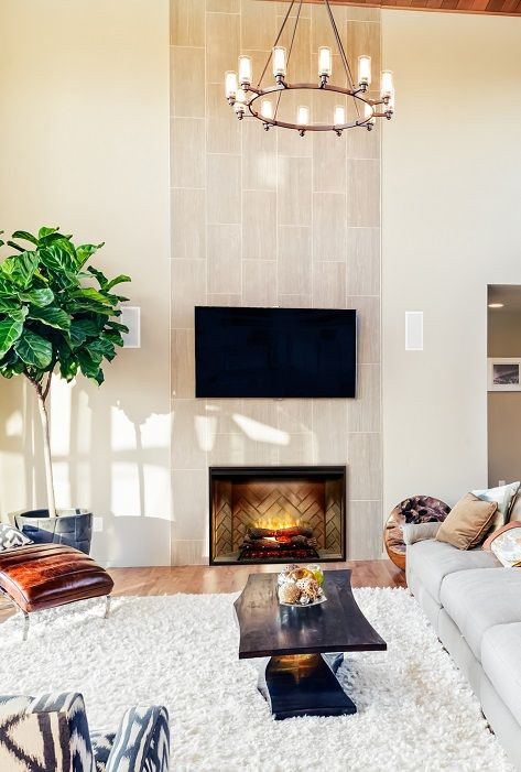 57 best Living Room Electric Fireplaces images on