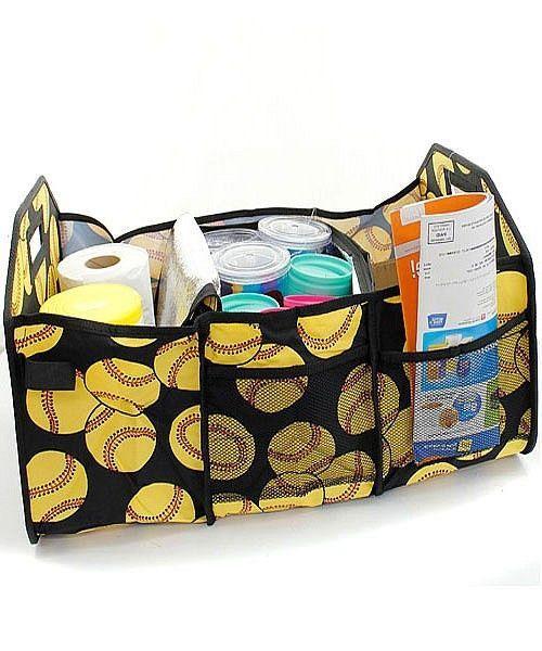 Trunk Organizer Large Utility Tote Bag