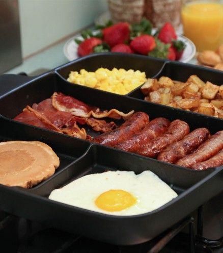 Pour tous les adeptes de brunchs et de petits-déjeuner copieux la poêle petit-déjeuner Masterpan est