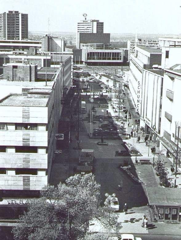 1972, aanleg van de Promenade