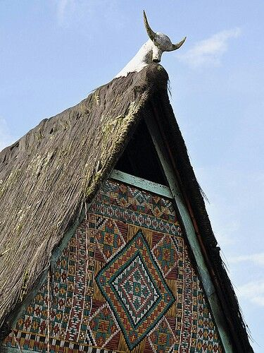 Traditional Karo House roofs