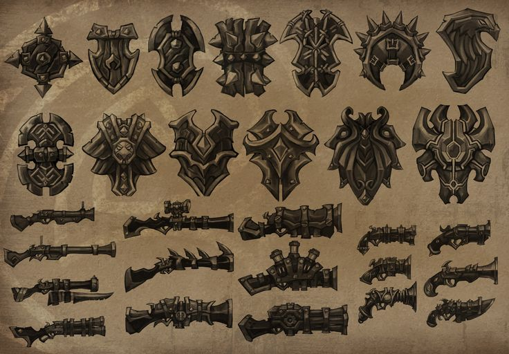 http://www.torchlightgame.com/wp-content/uploads/weapons01_shieldsrifles.jpg