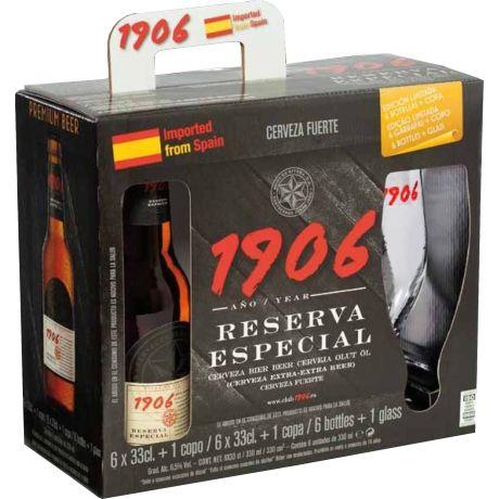 Cerveja - Estrella Galicia 1906 Reserva Especial R$56