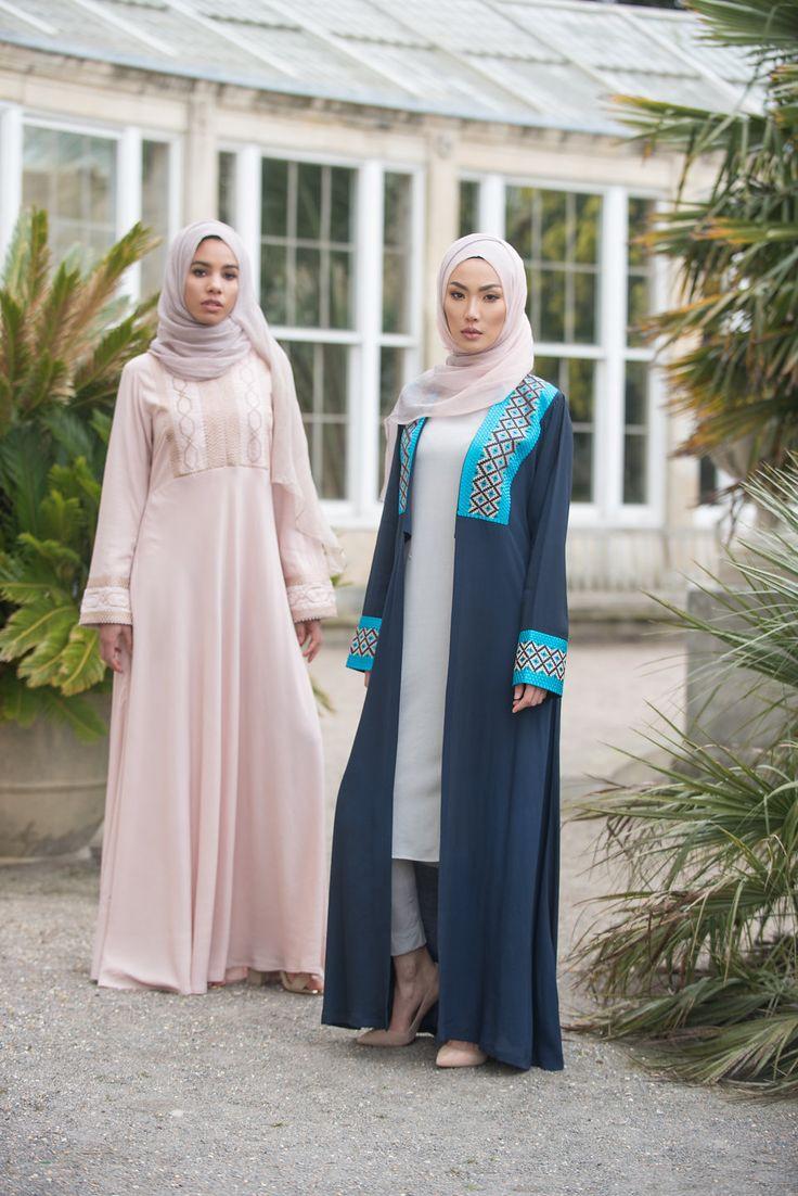 Bokhara Abaya and Samarkand Kimono