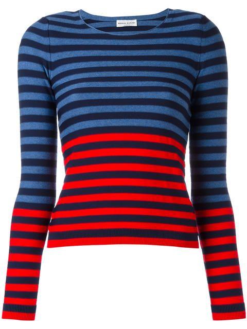 SONIA RYKIEL striped jumper. #soniarykiel #cloth #스웨터