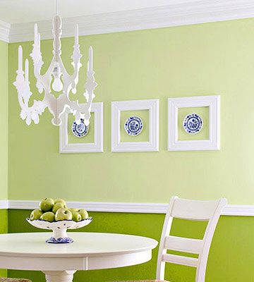Perfect accents for a dining room.