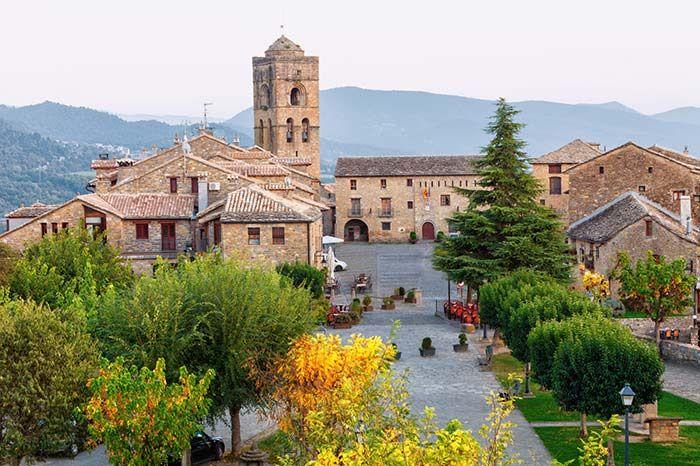 Ainsa Huesca Aragón España