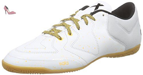 adidas X 15.3 Ct, Chaussures de Football Homme, Mehrfarbig, Blanc / Jaune / Noir (Balcri / Brgrcl / Negbas), 44 2/3 EU - Chaussures adidas (*Partner-Link)