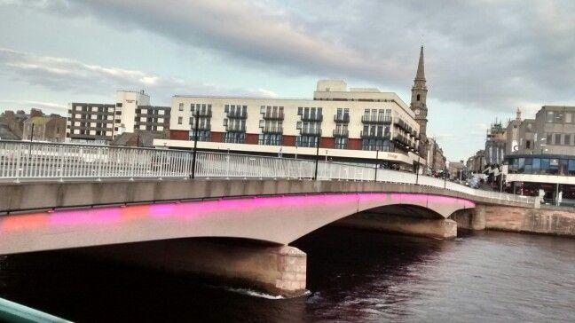 The Ness Bridge/ Inverness - Escócia/ UK 12/2016
